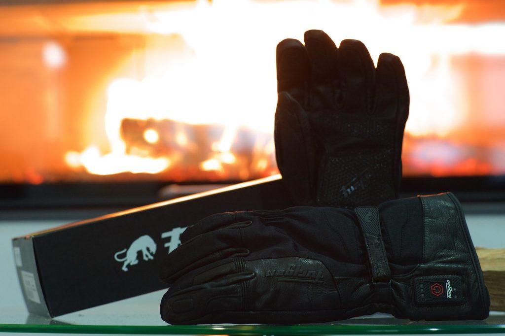 Gant moto hiver chauffant Furygan Blizzard Heat D3O 37.7