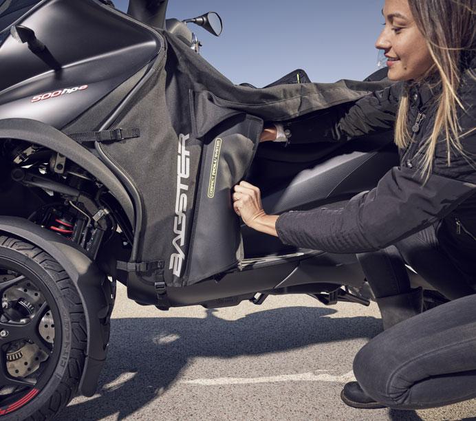 Comment choisir un tablier de moto ?