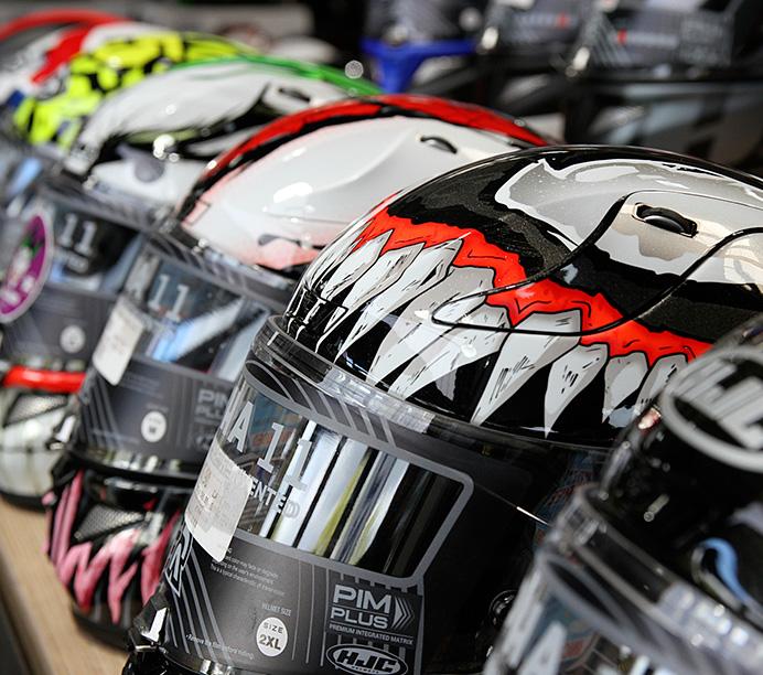 Trouver un casque moto original